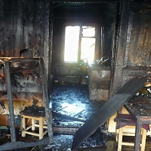 ВКраснодаре поул.Чехова горела одна изквартир многоэтажного дома