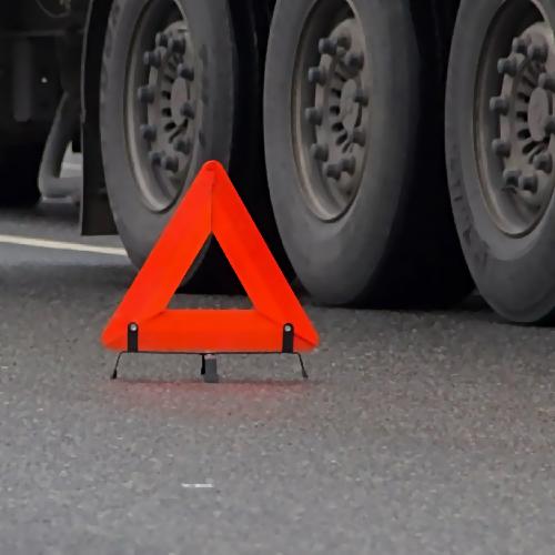 Движение наКутузовском проспекте ограничено всвязи сДТП сучастием фургона