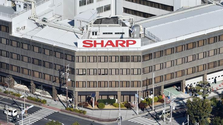 Компания Sharp закрывает заводы вЯпонии