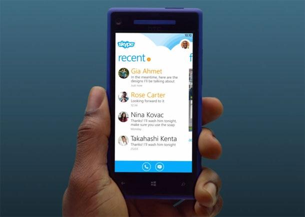 Microsoft закрыла доступ к Skype для Windows Phone