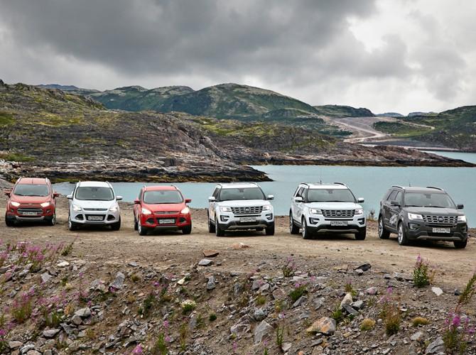 Вначале осени сектор SUV стал лидером русского рынка