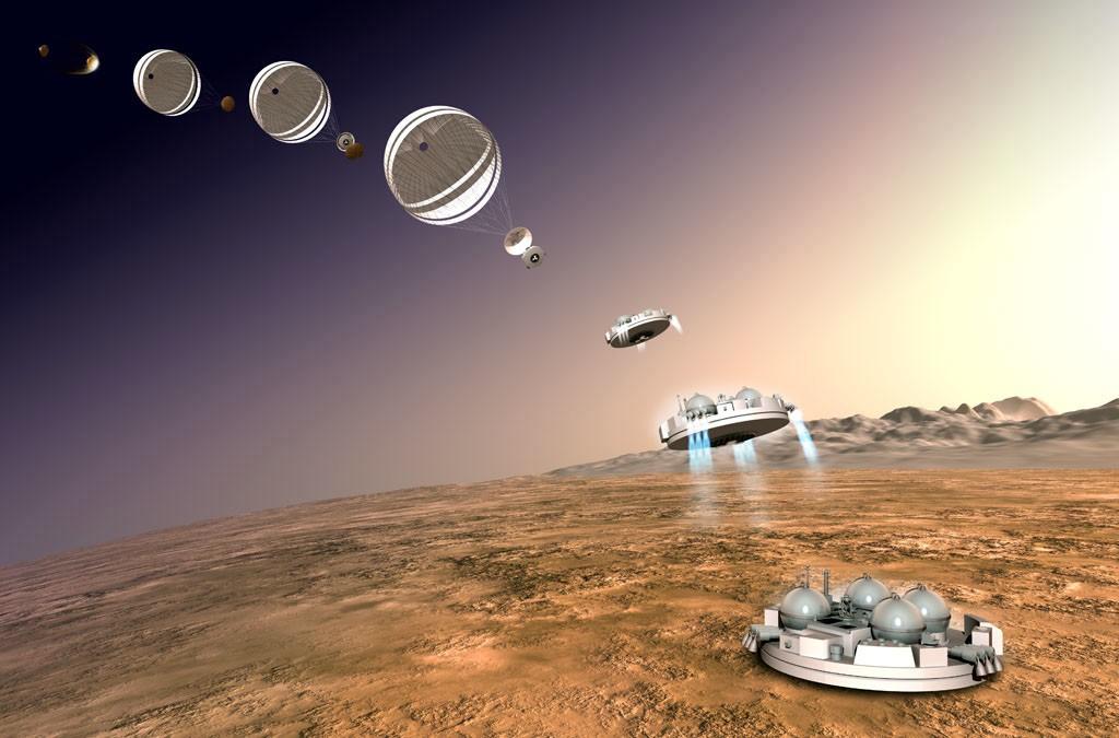 Космический модуль наМарсе потерял связь сЗемлей