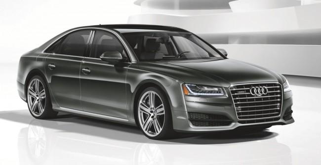 Audi представила люксовый спортивный седан A8 L 4.0T Sport