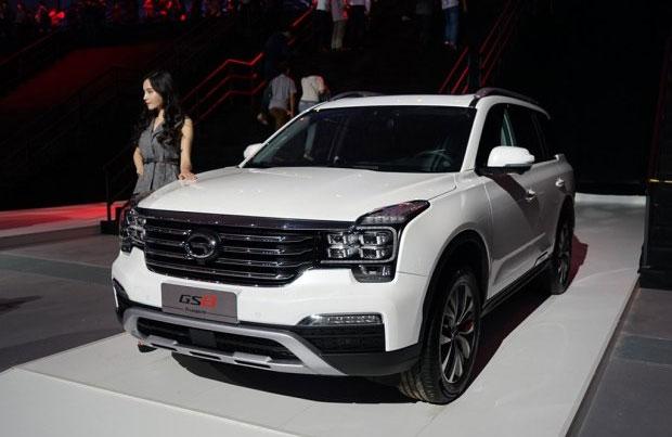 Джип GAC Trumpchi GS8 вышел на рынок КНР