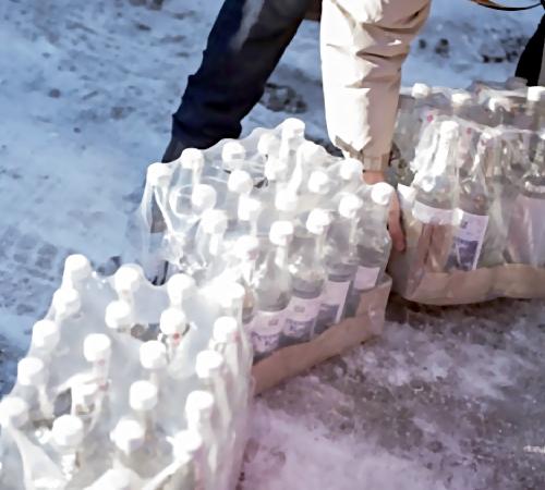 ВПодмосковье изъято неменее 55 тыс. бутылок споддельным виски