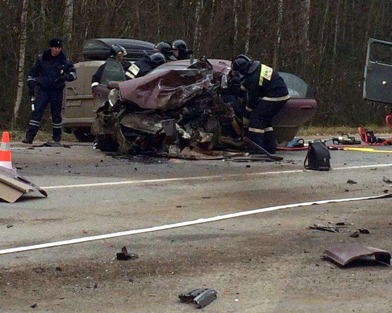 ВКирове вДТП с«Киа» иавтобусом умер человек