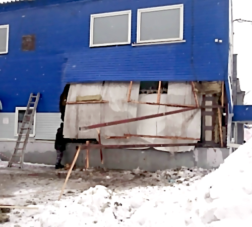 ВНовосибирске в коммерческом городе взорвался котел