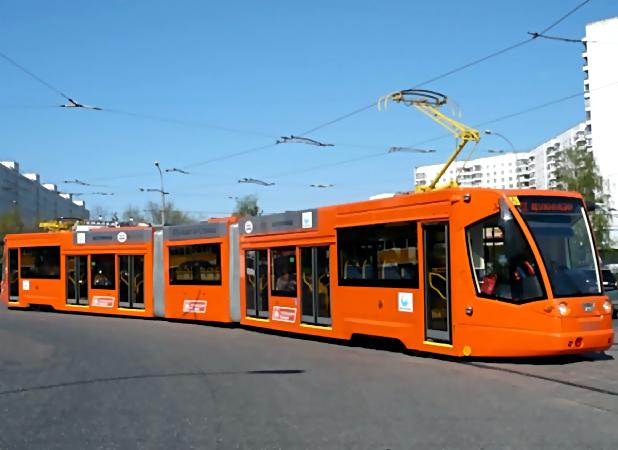 10 трехсекционных трамваев должны поступить вСамару в 2017