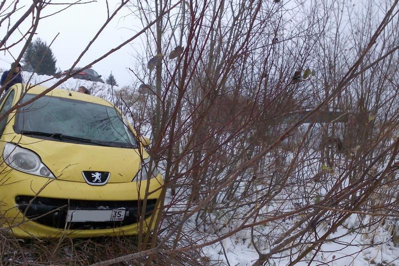Сразу 3 ДТП произошли сегодня наодном участке дороги Череповец— Белозерск