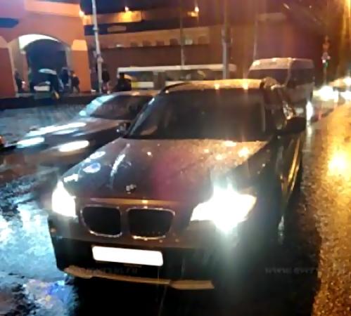 У «Триумф Молла» шофёр «BMW» сбил ребенка