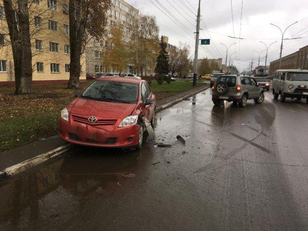 ВТамбове случилось ДТП сучастием четырех авто