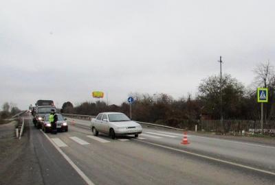 ВЛипецке под колесами автомобиля умер 92-летний пенсионер