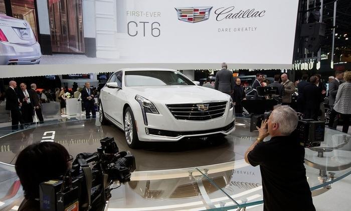 Компания Cadillac озвучила стоимость флагманского седана CT6