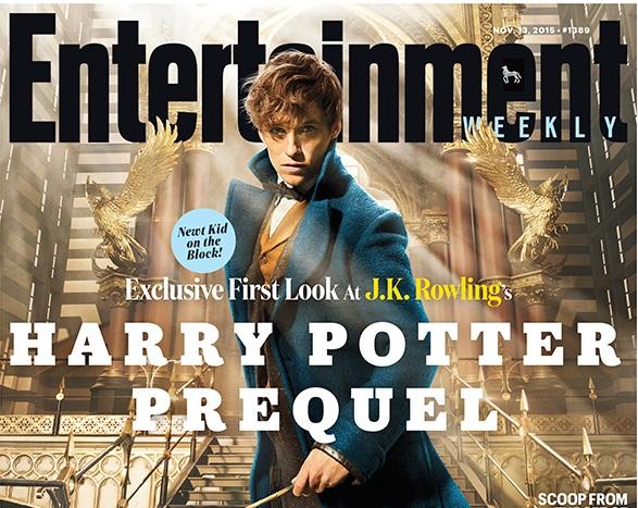 Эдди Редмэйн вспин-оффе «Гарри Поттера»— Первое фото