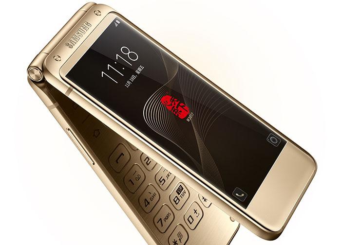 Официальный анонс флагманского телефона Самсунг W2017 вредком форм-факторе