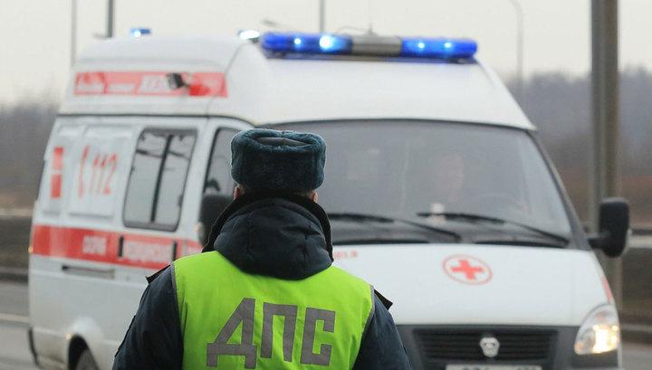 Под Волгоградом шофёр незаметил пешехода из-за фуры исбил его насмерть