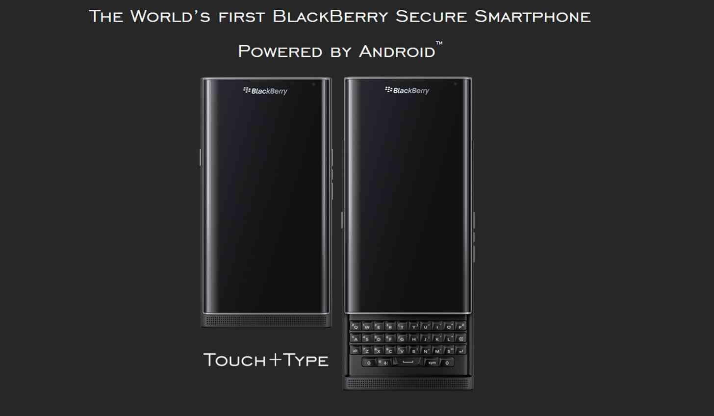 Priv может стать последним смартфоном BlackBerry