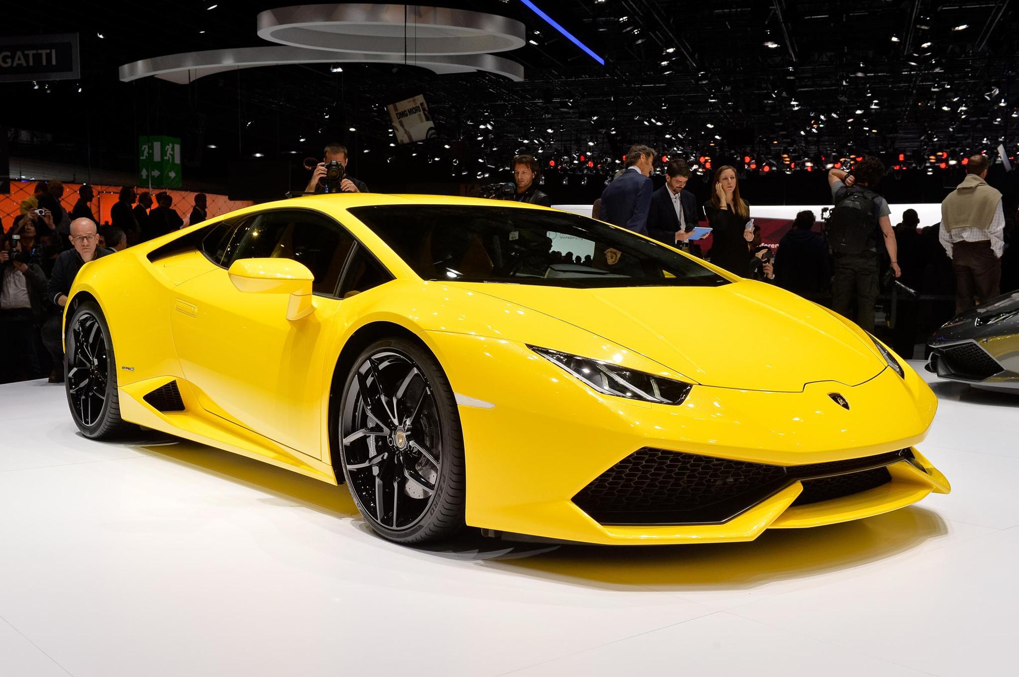 Кризис подстегнул продажи Lamborghini в Российской Федерации