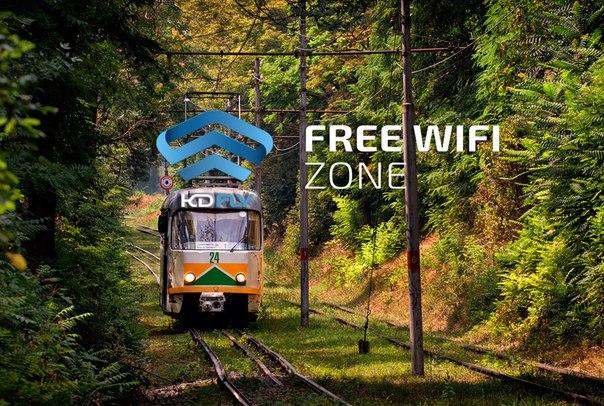 В пятигорских трамваях появился бесплатный интернет