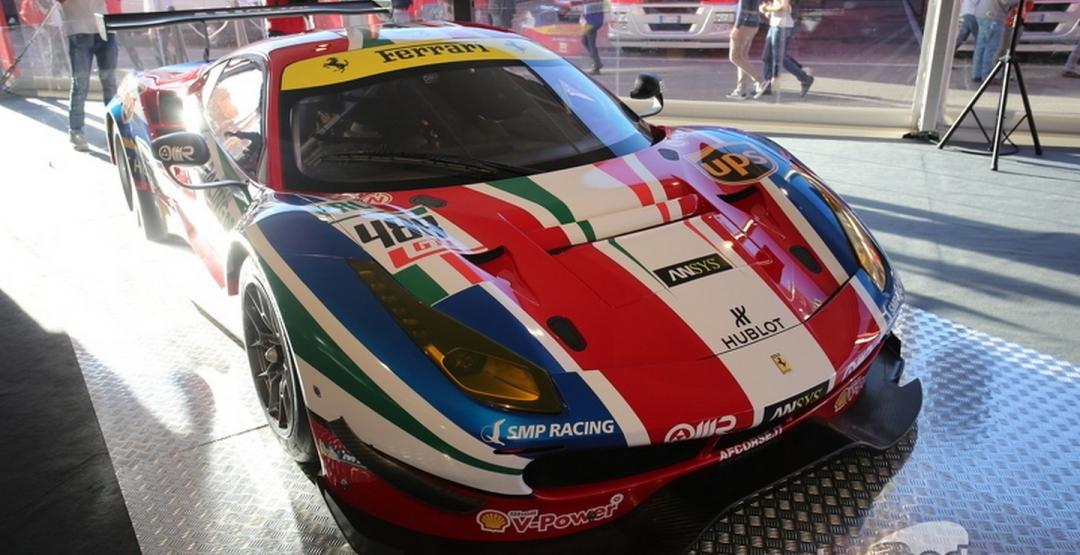 Ferrari представила гоночные болиды 488 GTE и 488 GT3