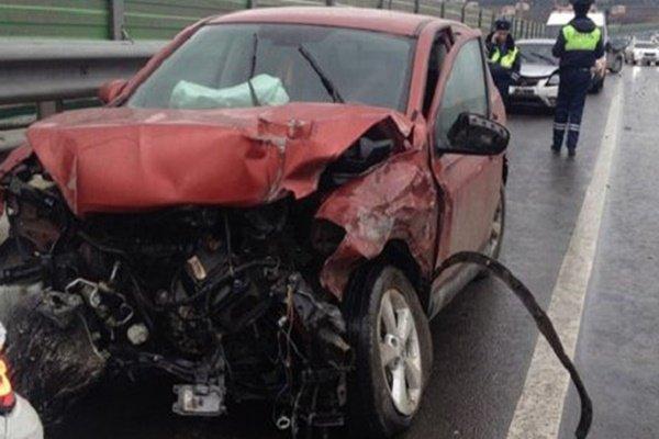 4 человека пострадали вДТП на автотрассе Ольгинская-Волгодонск