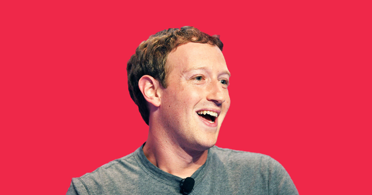 Основатель социальная сеть Facebook Марк Цукерберг стал бизнесменом года