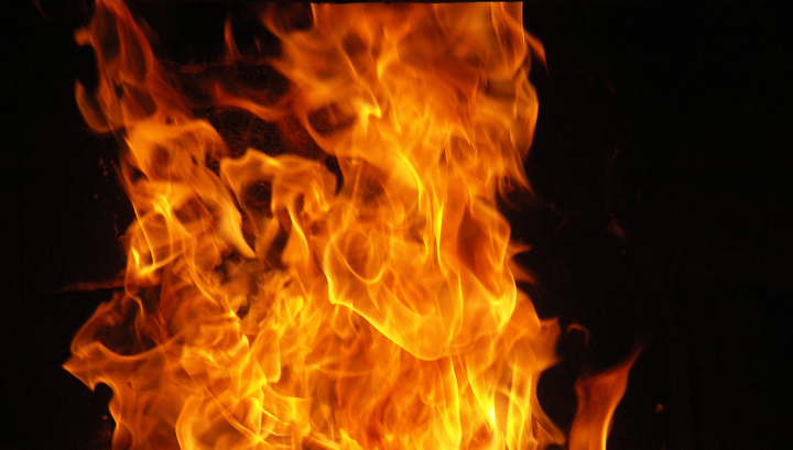 Впригороде Томска впроцессе пожара погибли два человека