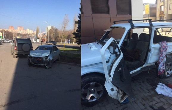 ВРостове вДТП умер один человек ипострадали двое