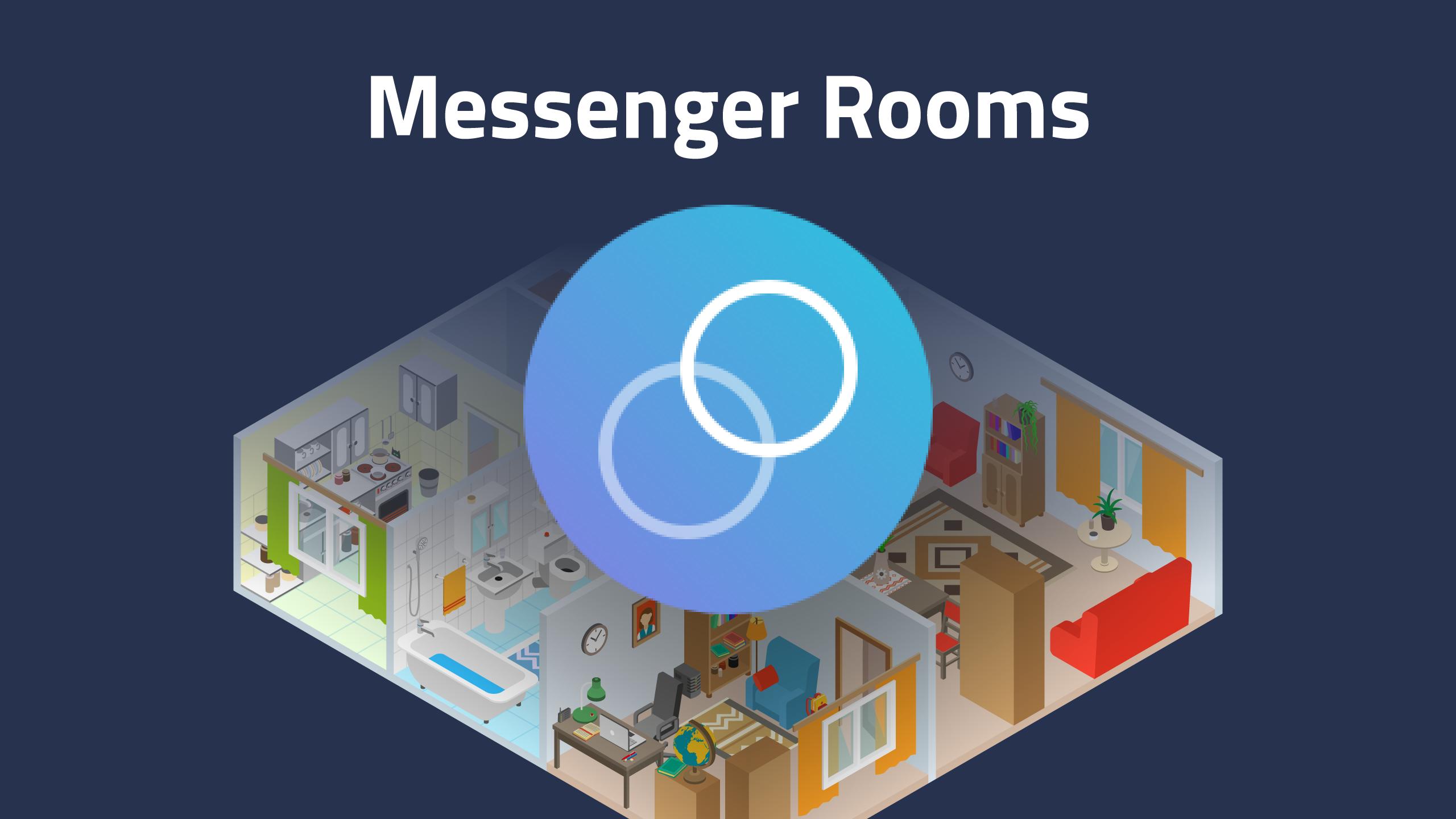 Социальная сеть Facebook начал испытывать функцию Rooms всвоем мессенджере