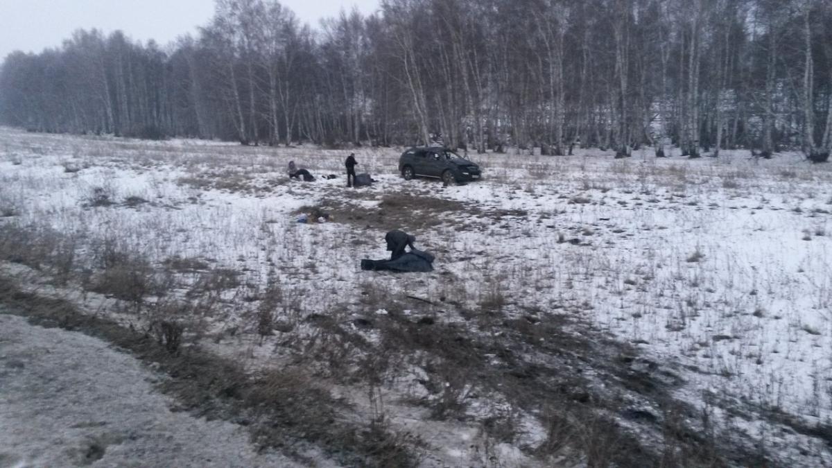 ВБашкирии легковой автомобиль зажало между фурами