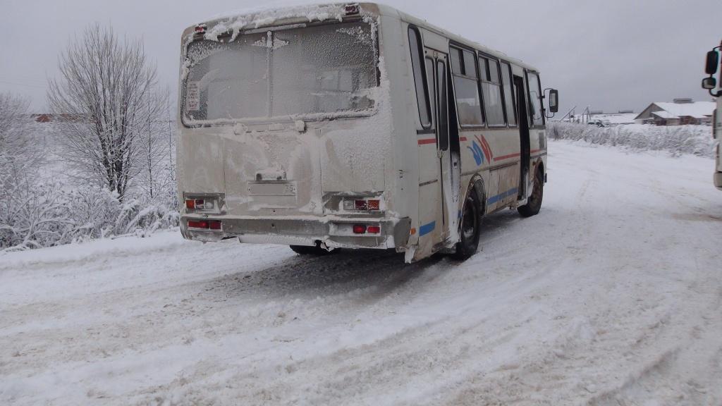 ВГрязовецком районе столкнулись автобус и иностранная машина