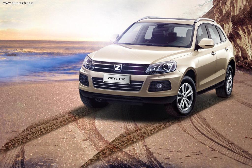 В Украине появятся автомобили китайского бренда Zotye