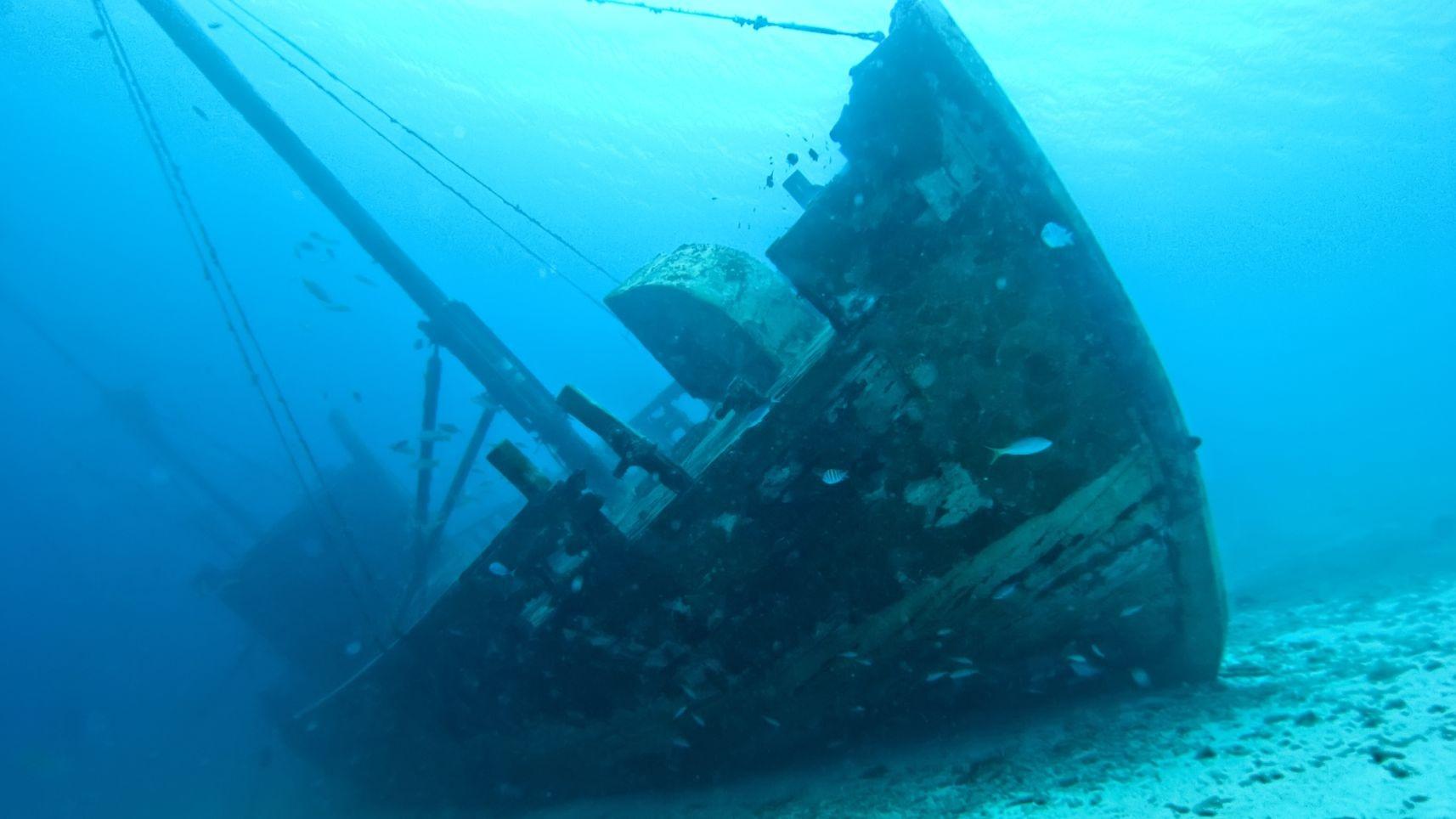 Затонувший вэпоху Римской империи корабль отыскали вИспании