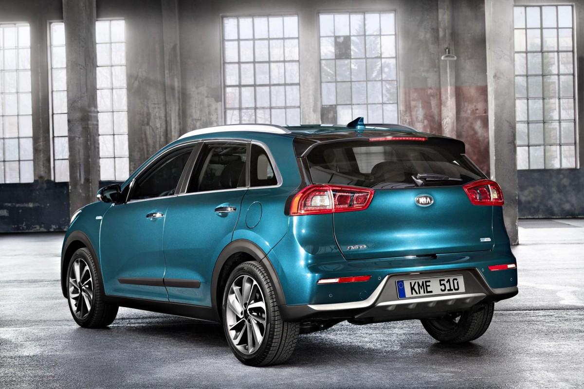 Вевропейских странах набирает популярность гибридный вседорожный автомобиль Кия Niro