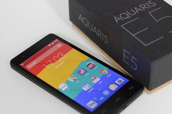 В России стартовали продажи смартфонов BQ Aquaris на ОС Ubuntu