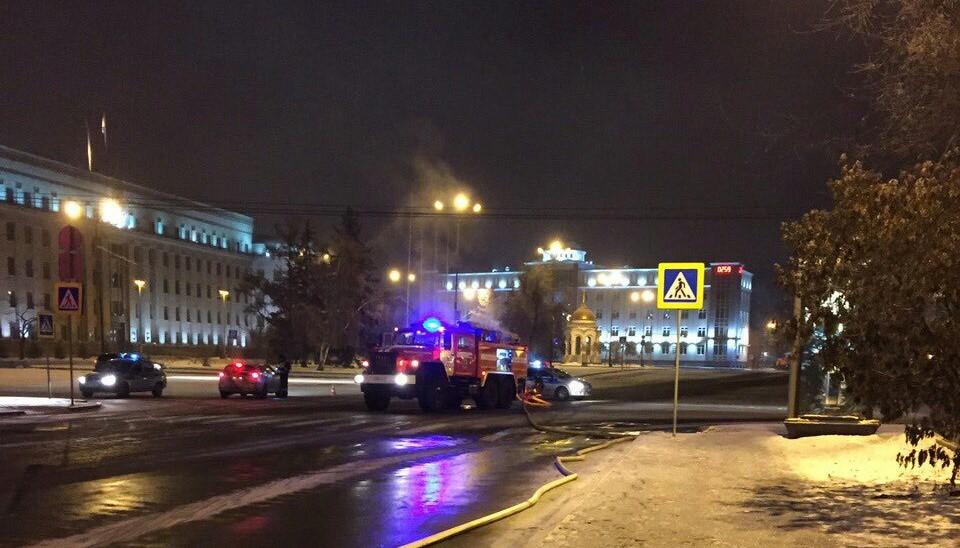 Впожаре вуниверситете вИркутске пострадали трое жителей Китая