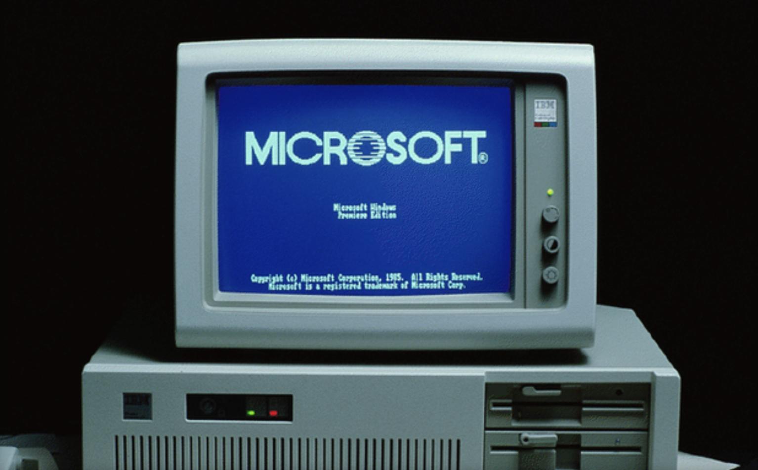 Ровно 30 лет назад Microsoft выпустила Windows 1.0