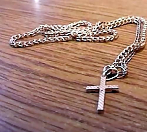 ВКузбассе 18-летняя наркоманка украла уребенка цепочку скрестиком