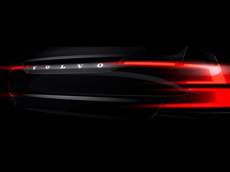 Новый флагманский седан Volvo S90 будет представлен в начале 2016 года