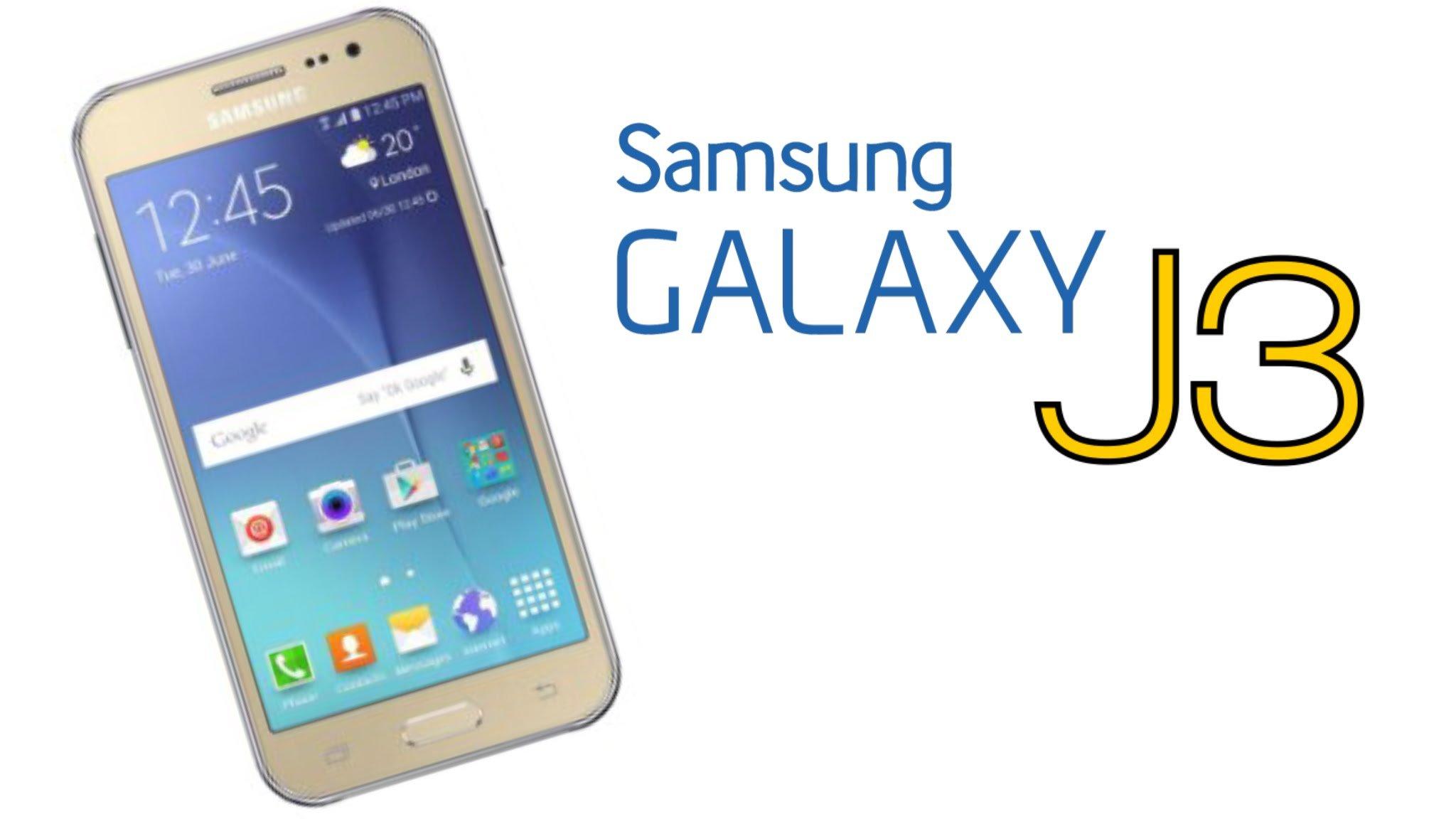 В Китае был официально представлен Samsung Galaxy J3