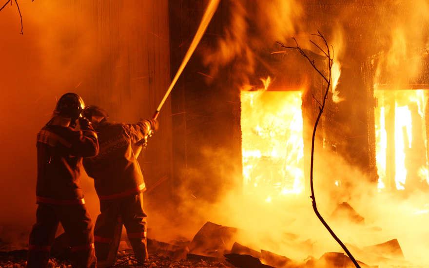 ВНижегородской области пожар забрал жизни 2-х женщин