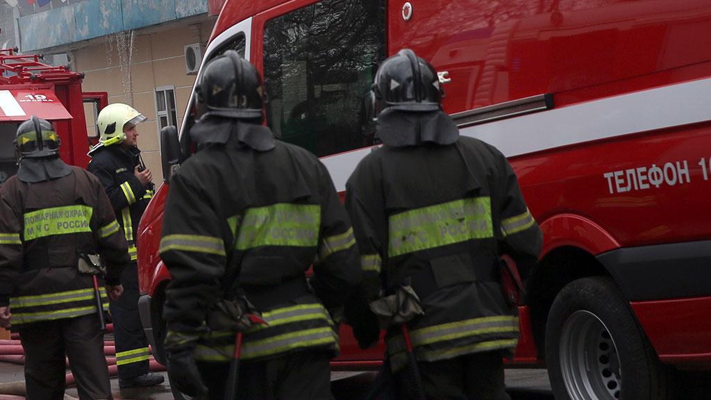 Один человек умер вгорящей многоэтажке в столице