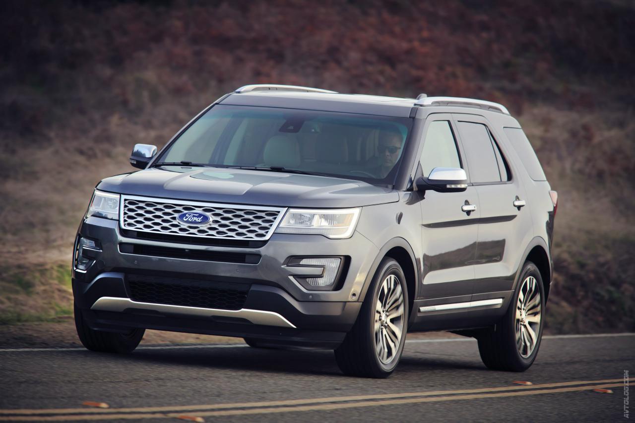 Вседорожный автомобиль Форд Explorer следующего поколения впервый раз замечен натестах