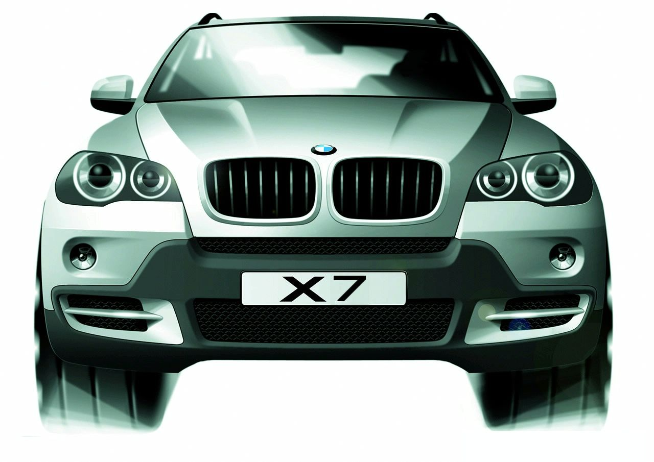 БМВ X7 получит 4-местную модификацию класса люкс