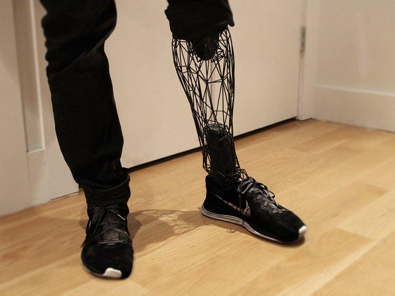 Новый 3D-протез совершит революцию впротезировании