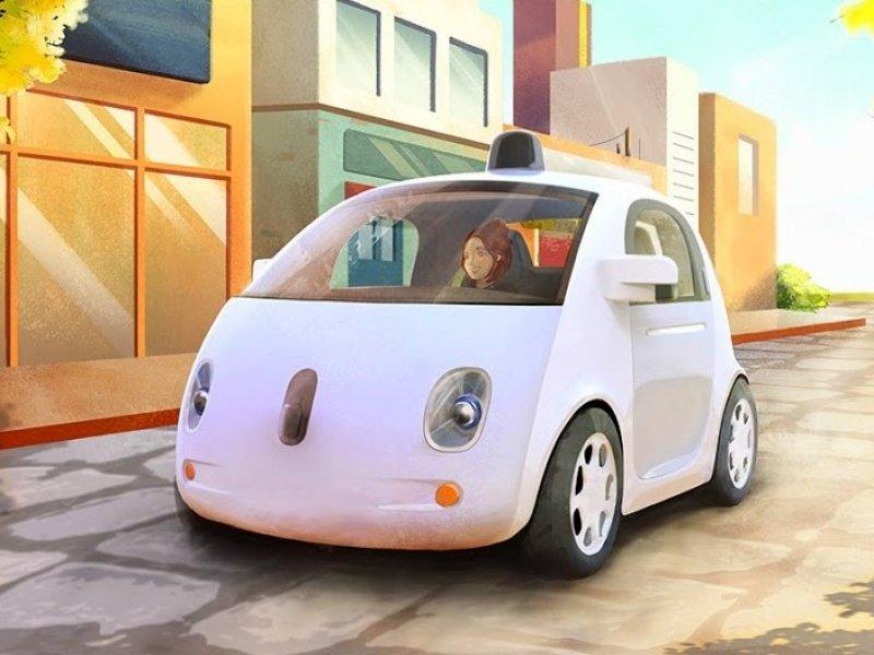 Google получила патент на систему общения гугломобилей с людьми