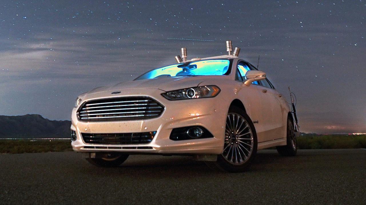 Компания Форд готовит ктестам свои беспилотные автомобили