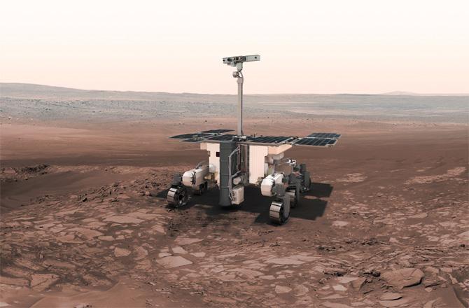 Впоисках марсианской жизни несомненно поможет «селфи-палка»