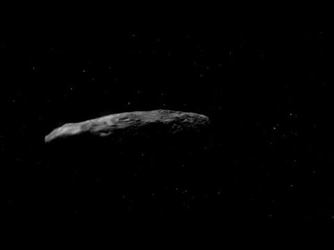 Калининградские астрономы проследили путь межзвездного астероида