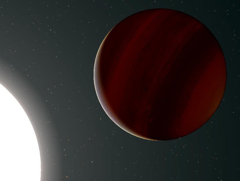 Учёные нашли уникальную гигантскую экзопланету